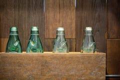 古色古香的玻璃瓶我 免版税库存照片