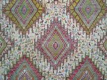 古色古香的主题地毯,从安纳托利亚的kilim 免版税库存图片