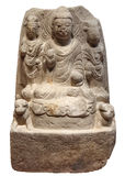 古色古香的Buddhas 免版税库存图片