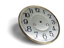 古色古香的clockface 库存图片