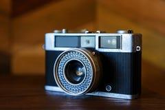 古色古香的flim照相机 免版税库存图片