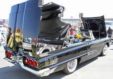 古色古香的Ford Thunderbird汽车 库存照片