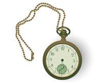 古色古香的pocketwatch 图库摄影
