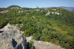 古色古香的Thracian圣所Tatul,保加利亚废墟  图库摄影