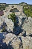 古色古香的Thracian圣所Tatul,保加利亚废墟  库存照片