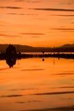 古苏格兰运河入口 免版税库存图片