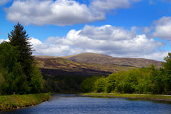 古苏格兰运河 库存图片