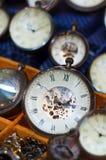 古董手表 免版税库存照片