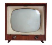 古董电视 免版税图库摄影