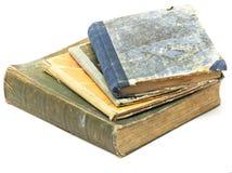 古董登记堆 免版税图库摄影