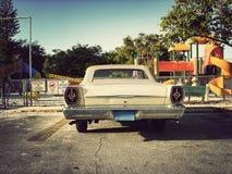 古董车公园玩具 库存图片