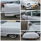古董车展示纽约1956年卡迪拉克de ville 库存图片