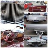 古董车展示纽约1970年卡迪拉克de ville 免版税库存照片
