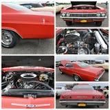 古董车展示纽约1965年雪佛兰因帕拉 免版税库存照片