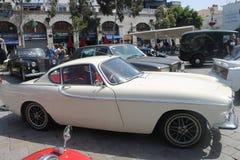 古董车展示,直布罗陀 免版税库存图片