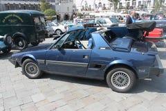 古董车展示,直布罗陀 库存图片