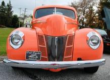 古董车展示 免版税库存照片