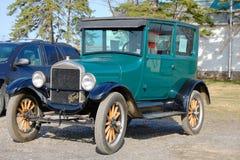 古董车浅滩设计显示t 免版税库存图片