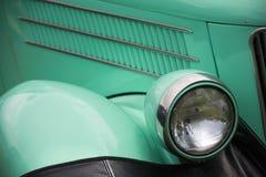 古董车详细资料视图 免版税库存照片