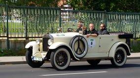 古董车,萨克森经典之作2014年 库存图片