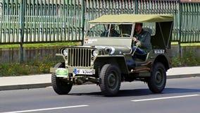 古董车,萨克森经典之作2014年 免版税库存照片