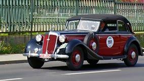 古董车,萨克森经典之作2014年 免版税库存图片