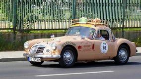 古董车,萨克森经典之作2014年 库存照片