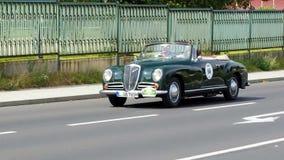 古董车,萨克森经典之作2014年 免版税图库摄影