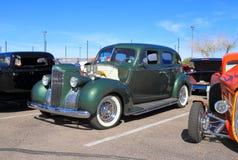 古董车:帕卡德1940年 库存图片