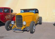 古董车:1932年福特跑车 免版税库存照片