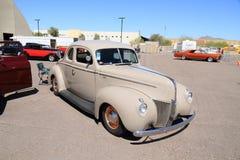 古董车:1940年福特Coupé 免版税图库摄影
