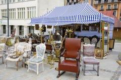 古董销售在扎科帕内 免版税库存图片