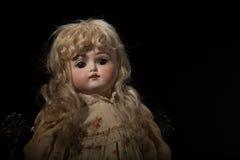 古董1887素瓷玩偶 免版税库存照片