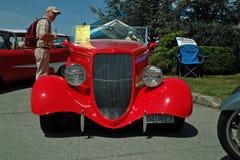 古董1934年福特跑车, BC,加拿大 库存照片