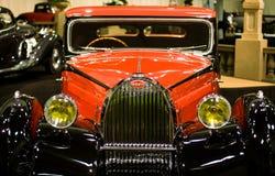 古董1930年Bugatti汽车 免版税库存照片