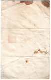 古董cli腐朽的公司纸张 免版税库存照片