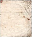 古董cli腐朽的公司纸张 库存图片
