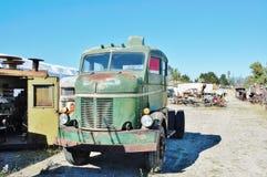 古董fwd生锈的卡车蒙大拿状态 库存图片