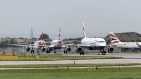 古西班牙Airlime空中客车A320 库存照片