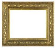 古金色框架 库存照片