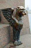 古铜的神话怪物 免版税库存照片