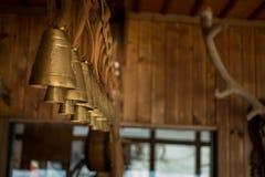 古铜色响铃连续 免版税库存照片
