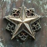 古铜色星形 图库摄影