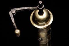 古铜色磨房 免版税库存照片