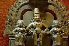 古铜色神象, Kelkar博物馆,浦那,马哈拉施特拉,印度 免版税库存图片