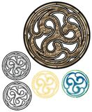 古铜色象征 库存照片