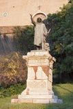 古铜色雕象 库存照片