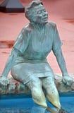 古铜色雕象 免版税图库摄影