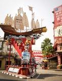古镇在Melaka,马来西亚 免版税库存照片