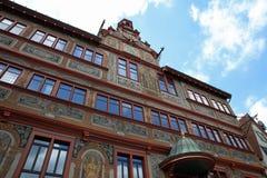 古镇经常霍尔他大学镇蒂宾根 德国 图库摄影